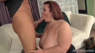 Fat Ass Lady Lynn takes cum