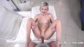 Zazie  Cute Girl Loves the Taste of Dick