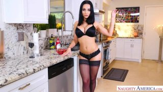 Your Wife Crystal Rush Fucks You In The Kitchen