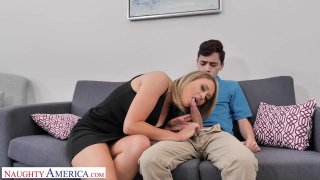 Nicole (Elle McRae) needs some young cock NOW