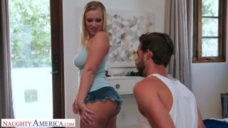 Katie Hunt Gives Her Friend's Brother Some Thick, Juicy Cake